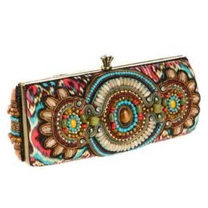 multi color clutch beaded stylish mini clutch handbag ideas