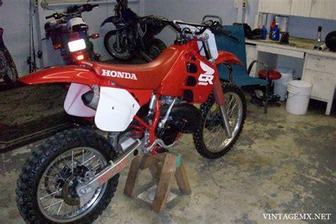 1988 honda cr250r 1988 honda cr250r showcase bikes vintagemx net