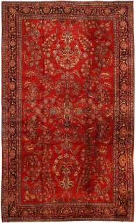 Rug Antique Sarouk Persian Rug 43439 Nazmiyal Collection