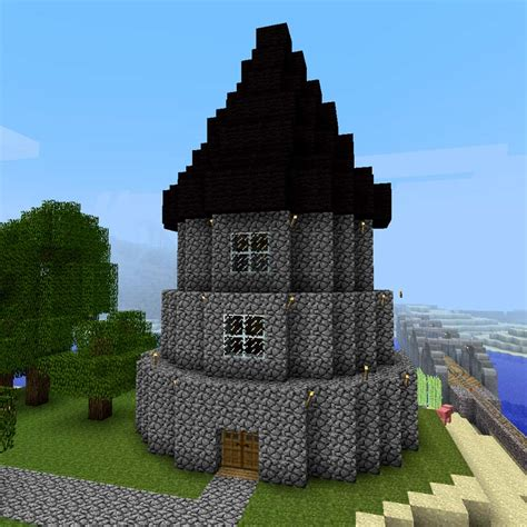 Small Castle Floor Plans by Build A Minecraft Wizard Tower