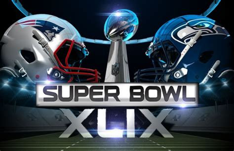 super bowl xlix patriots vs seahawks odds spread and tv