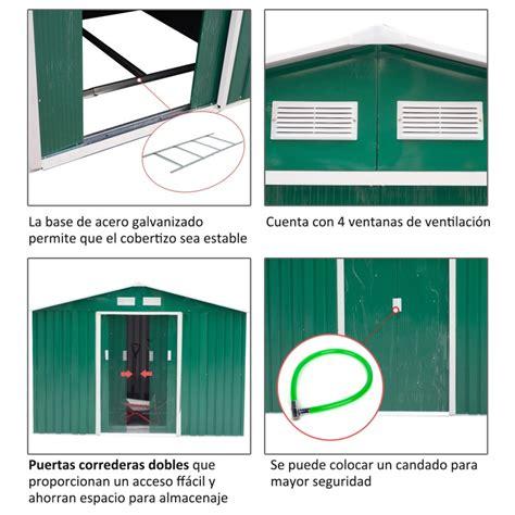 cobertizos para jardin cobertizos para jardin cheap bsico with cobertizos para