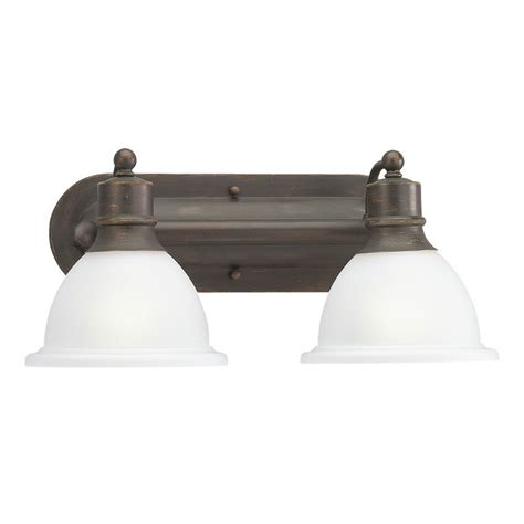 Antique Bathroom Light Progress Bathroom Light With White Glass In Antique Bronze Finish P3162 20 Destination Lighting