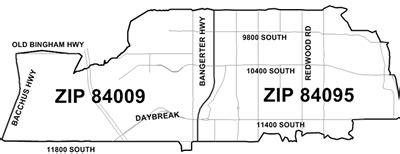 postal service announces new zip code in south jordan