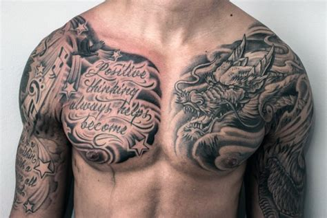 portuguese tribal tattoos asian style black and white with lettering