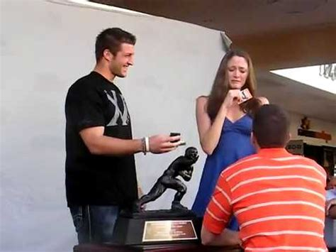 tim tebow's funny marriage proposal =) youtube