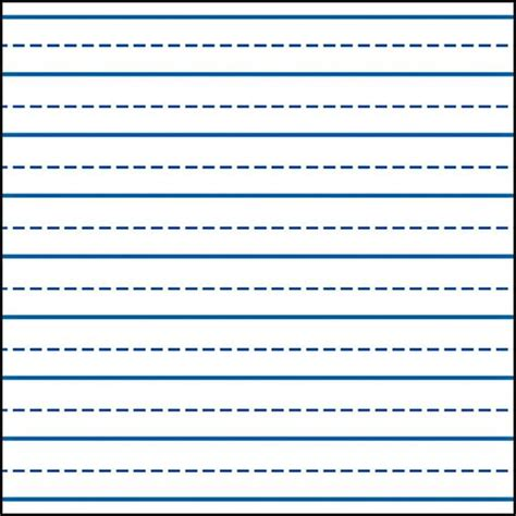 learning to write paper template writing lines for kindergarten writing skills