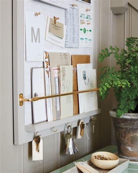 diy entryway organizer 1000 ideas about mail storage on pinterest entryway
