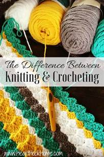 the difference between knitting and crocheting master your tension