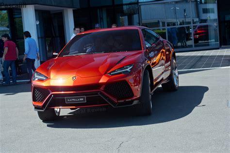 Urus Lamborghini Lamborghini Ceo Says Urus Headed To Production The