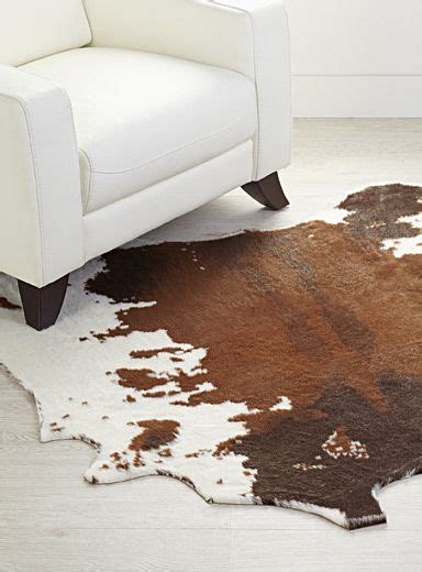 Faux Cowhide Area Rug by Shop Decorative Carpets Area Rugs In Canada