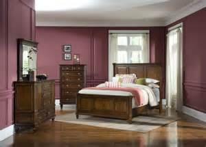 astonishing cherry bedroom furniture wooden floor purple