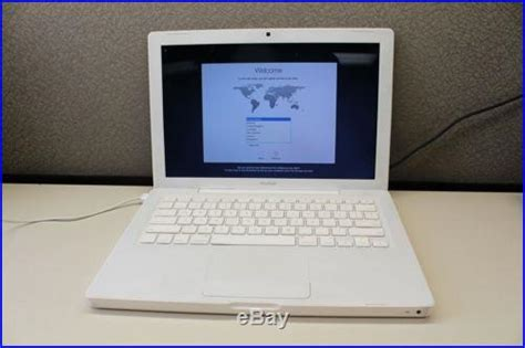 Macbook Pro A1181 13 apple macbook laptop a1181 2009 white intel 2ghz