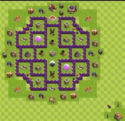 layout zueiro cv 7 dicas de layout para cv 7 clash of clans pt br amino