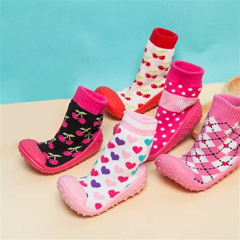 child shoes baby random flooring silicone soles infant toddler