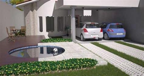 cocheras abiertas modernas fachadas de casas con cochera doble