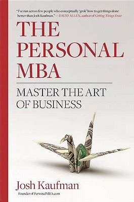 The Personal Mba by The Personal Mba Master The Of Business By Josh