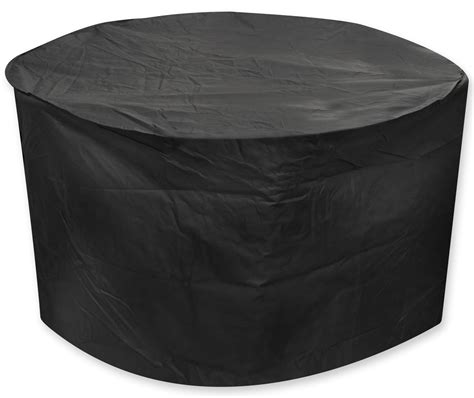 oxbridge black medium round waterproof outdoor garden