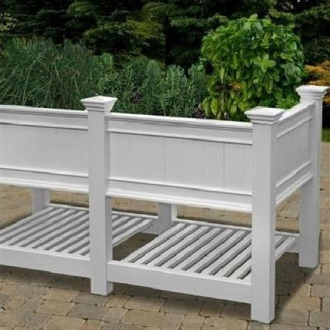 Decorative Planter Boxes by New Arbor Cambridge Raised Planter Box Extension 3