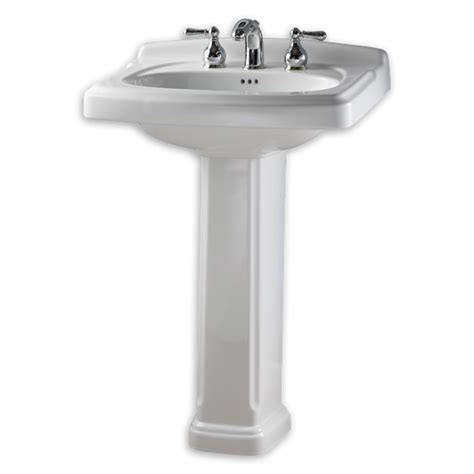 Where To Buy Pedestal Sinks Portsmouth 24 Inch Pedestal Sink American Standard