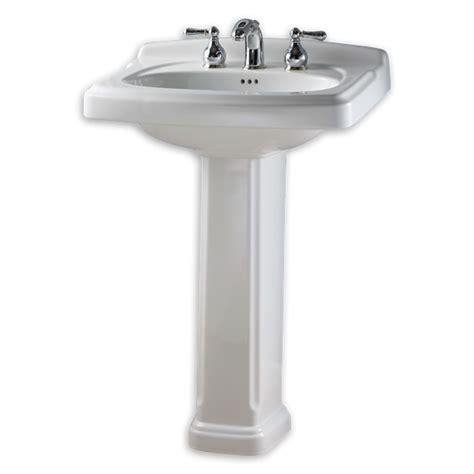 24 inch pedestal sink standard standard collection pedestal sink