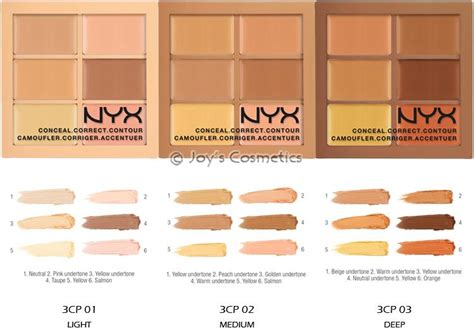 Nyx Color Correcting Concealer Palette 1 nyx conceal correct contour palette quot your 1 color