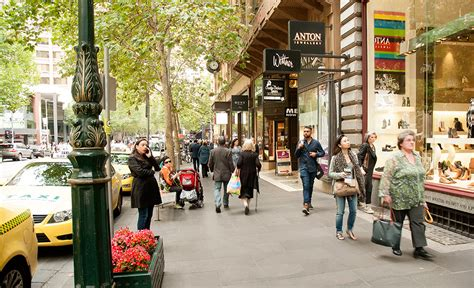 Shops Melbourne by Collins Street1
