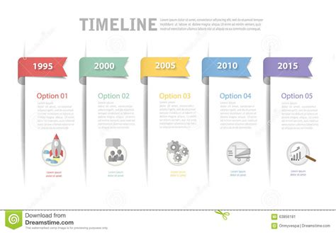 workflow timeline template timeline template can be used for workflow layout