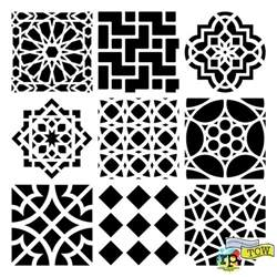 moroccan pattern template silhouette projects on silhouette vinyl