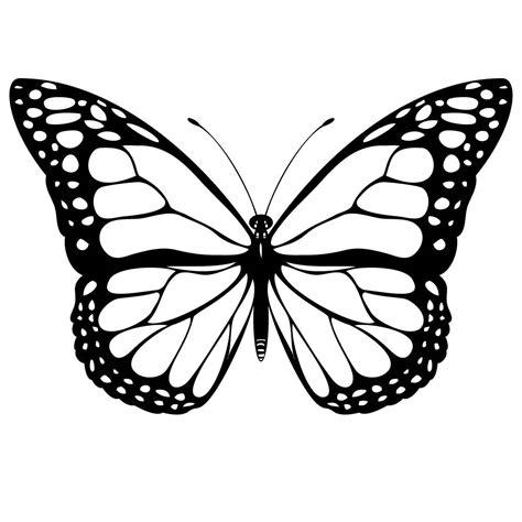 butterfly stencil template cool monarch butterfly stencil golfian