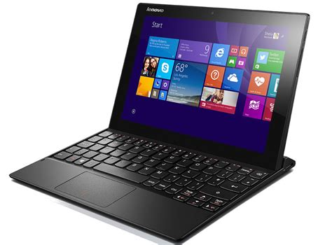 Laptop Tablet Lenovo lenovo miix 3 10 1 inch windows 8 1 tablet with keyboard