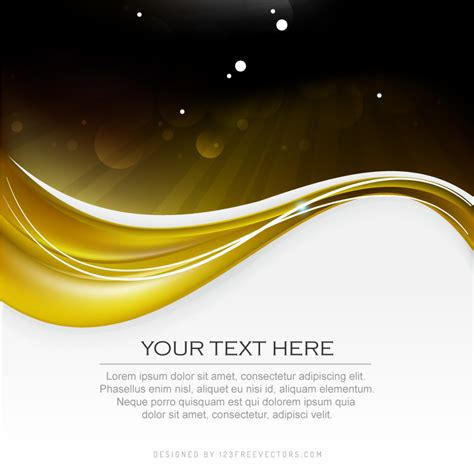 black and gold background black gold background design template 123freevectors