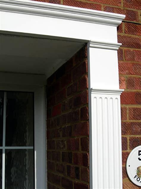 Exterior Door Surrounds Door Surrounds Exterior Door Surround Pilasters Fypon Door Surrounds Fypon Door Molding Door