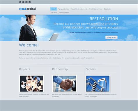 Templates Website Builder Netim Best Template Based Website Builder