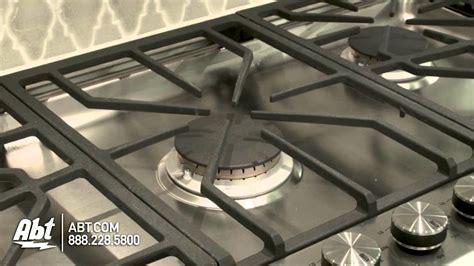 ge monogram cooktop 36 gas ge monogram 36 inch stainless steel gas cooktop zgu385