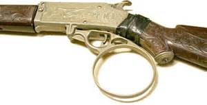 Line of toys based on the rifleman tv series including this cap gun