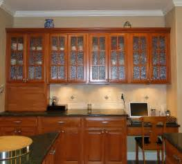 black kitchen cabinets with glass doors interior