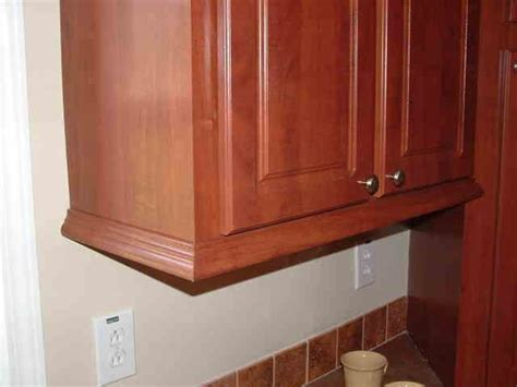 cabinet trim for the home