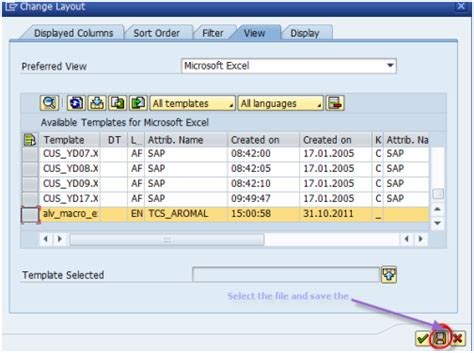 excel save layout sap alv excel inplace with macro recording sap blogs