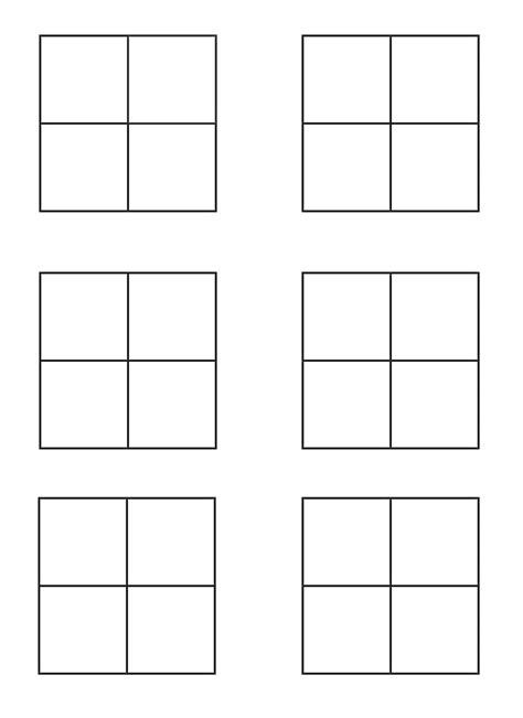 4x4 bingo template blank bingo cards 4x4 www pixshark images