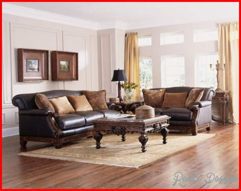 living room designs with leather furniture traditional interior design ideas rentaldesigns