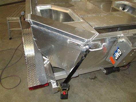 bass boat seat extension custom fabrication fishon fabrications