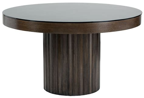 round glass dining table for 6 jakarta round black glass top dining table from sunpan
