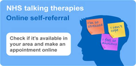 mental health chat rooms uk benefits of talking therapy stress anxiety and depression nhs choices