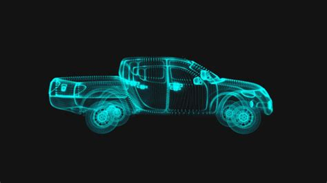 holographic car holographic car projection by sciencefiction videohive
