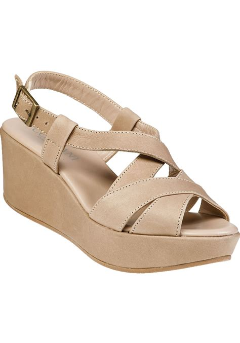 beige wedge sandal cordani darnell wedge sandal sabbia beige leather in