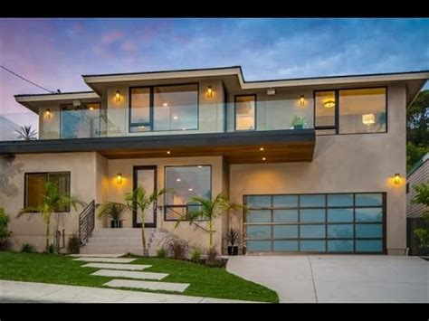 modern coastal house seaside oceanside contemporary home in san diego california