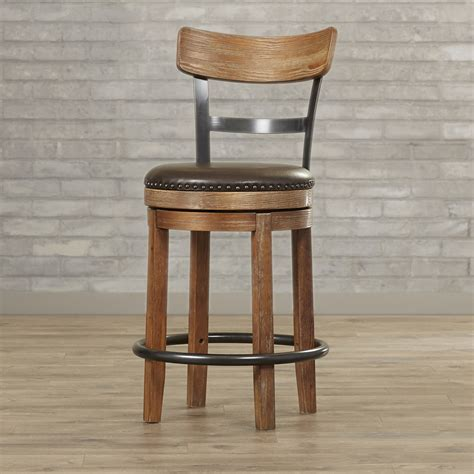 trent austin design empire 24 25 quot swivel bar stool trent austin design empire 24 25 quot swivel bar stool