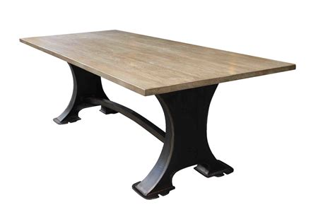 Roberto Dining Table  Industrial Design Home Furnishings Handmade in Los Angeles From Reclaimed