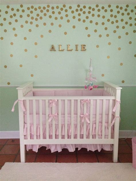 pink and green baby room 325 best polka dot rooms images on pinterest bedrooms